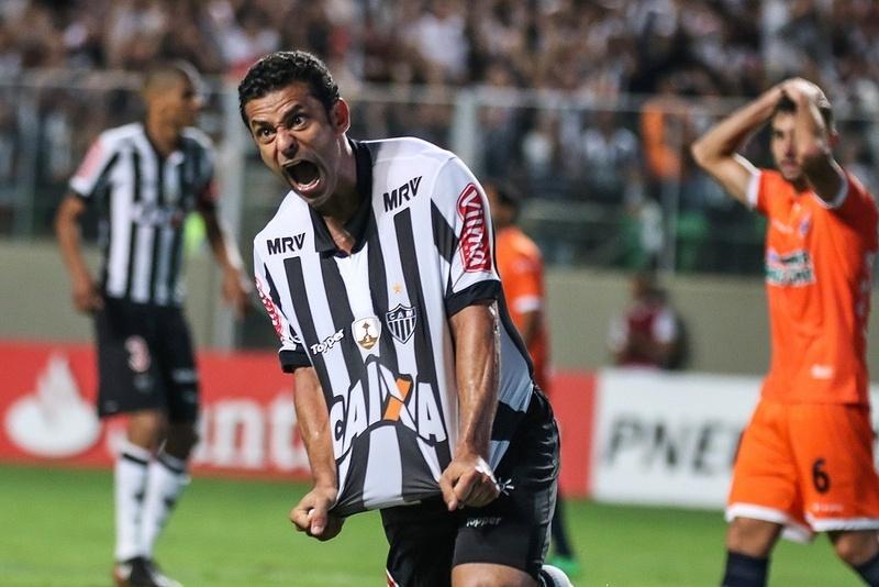 Fred fez quatro dos cinco gols do Atlético-MG na goleada sobre o Sport Boys, da Bolívia