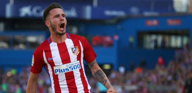 Saúl é destaque do Atlético de Madri