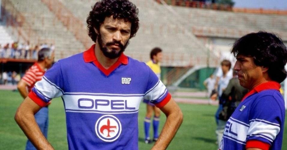 Fiorentina chegou a reunir Sócrates e Passarella no mesmo elenco nos anos 80