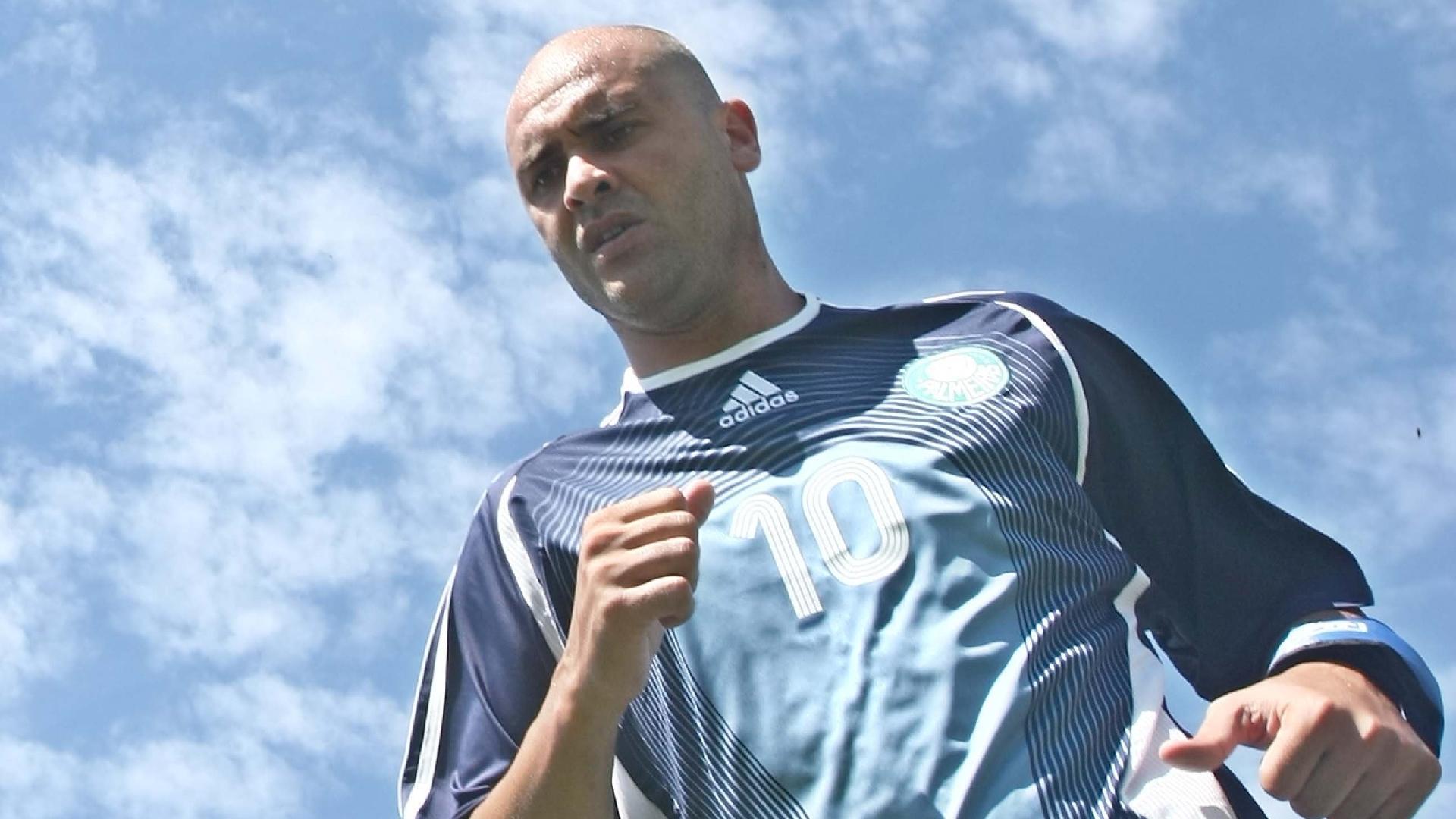 Marcos, goleiro do Palmeiras, durante treino em Atibaia (SP) 15.10.2008