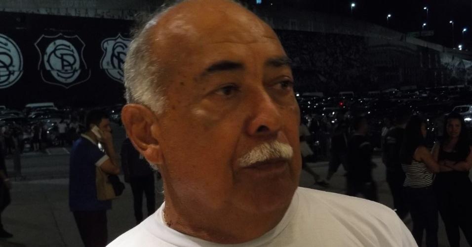 Pai do técnico Fábio Carille, Joaquim veio ver o jogo decisivo do filho
