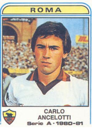 CARLO ANCELOTTI era meia da Roma e da seleção italiana nos anos 1980
