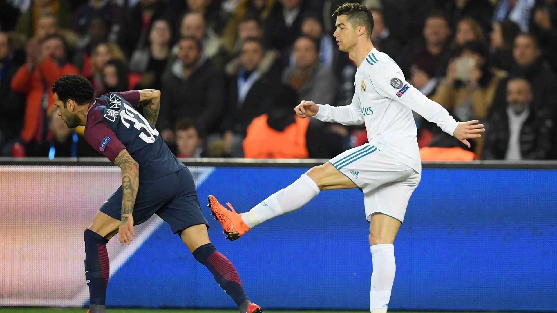 Cristiano Ronaldo Daniel Alves PSG Real Madrid