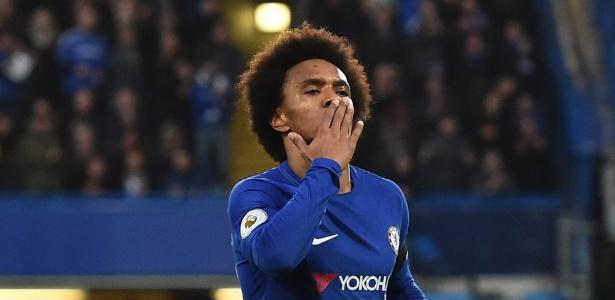 Em melhor temporada da carreira, brasileiro faz quinto gol em cinco jogos pelo Chelsea
