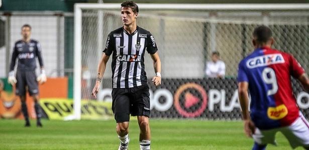 Iago Maidana jogou pelo Atlético contra o Paraná na vaga de Gabriel e vai jogar contra o Bahia no lugar de Léo Silva - Bruno Cantini/Clube Atlético Mineiro