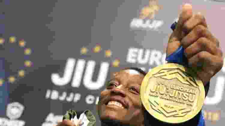 Wagner Nunes foi medalha de bronze no Campeonato Europeu de Jiu-Jítsu representando o Qatar - Arquivo Pessoal - Arquivo Pessoal