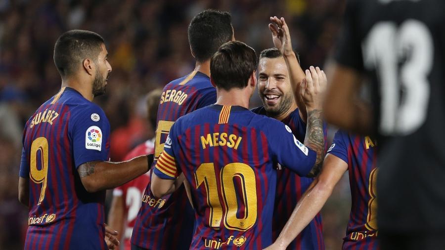 """Para David Aganzo, partida Girona x Barcelona nos EUA é """"atualmente"""" inviável - Pau Barrena/AFP"""