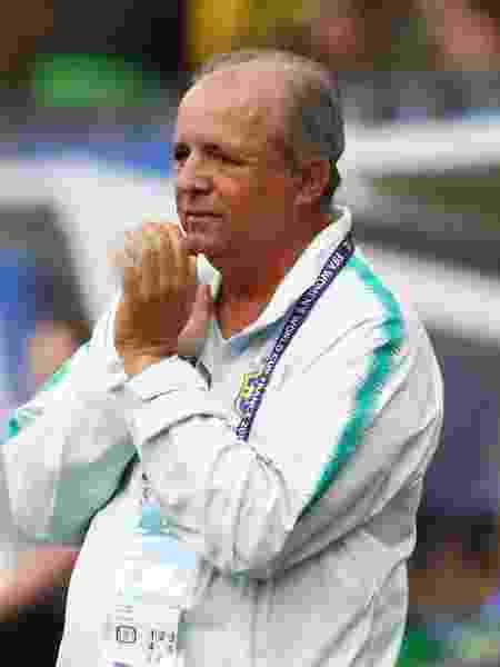 Vadão, ex-técnico da seleção brasileira feminina de futebol, durante a Copa do Mundo  - Denis Balibouse/Reuters