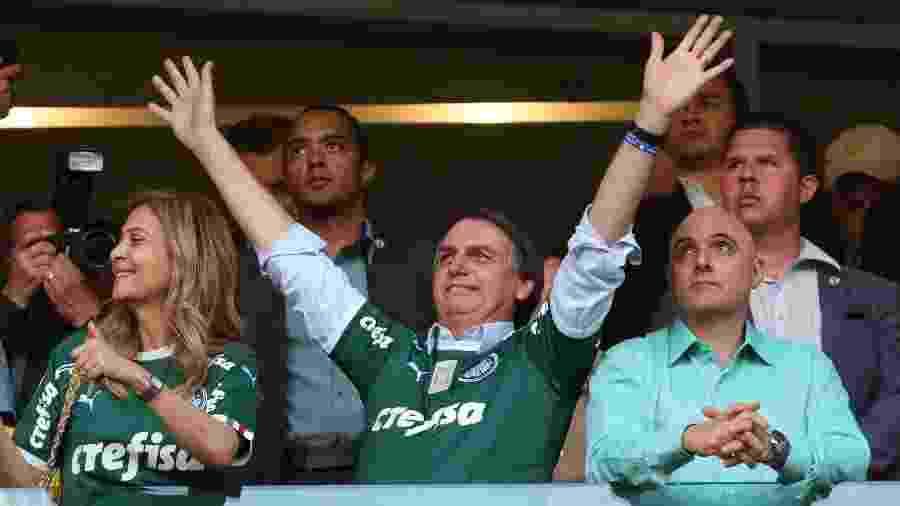 Palmeiras é um dos clubes com contrato com a Turner, e que pode ser afetado por MP de Bolsonaro -  REUTERS/Amanda Perobelli