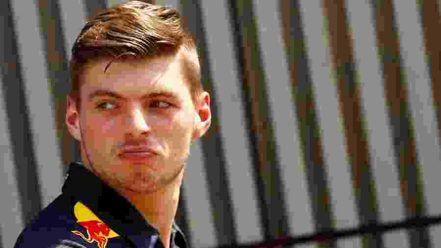 Max Verstappen no GP da Alemanha - REUTERS/Kai Pfaffenbach