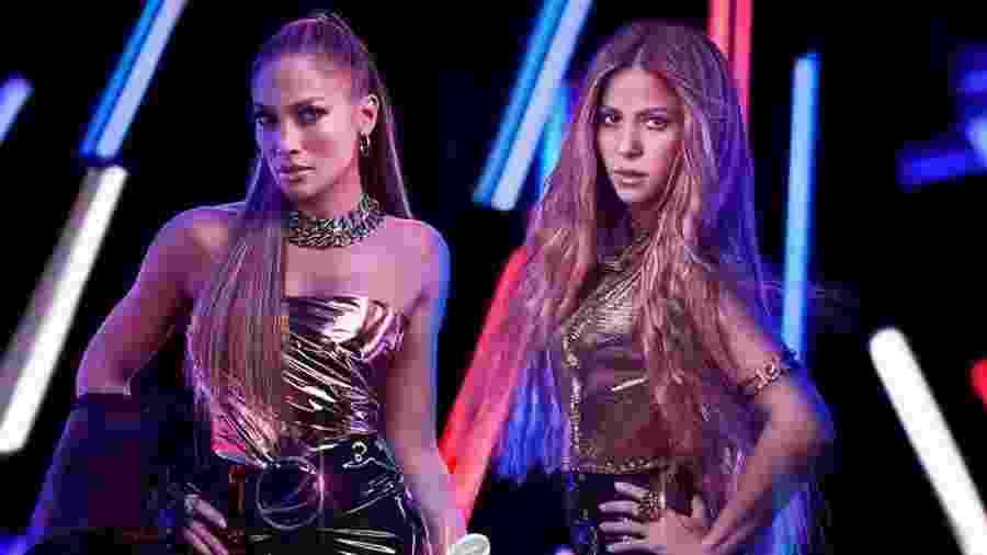 Jennifer Lopez e Shakira serão as estrelas do intervalo do Super Bowl - Reprodução/Instagram