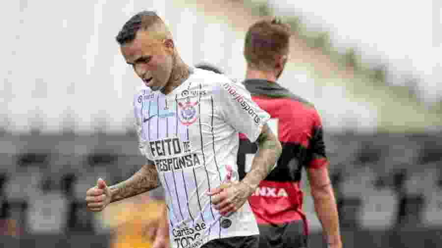 Luan em ação pelo Corinthians, na Arena Itaquera, antes da paralisação por conta da pandemia do coronavírus - Rodrigo Coca/Ag. Corinthians