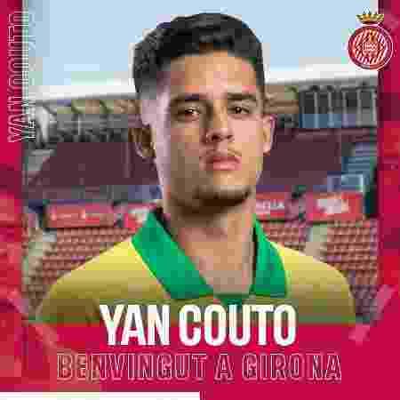Yan Couto foi emprestado pelo Manchester City ao Girona no mercado da bola - Divulgação