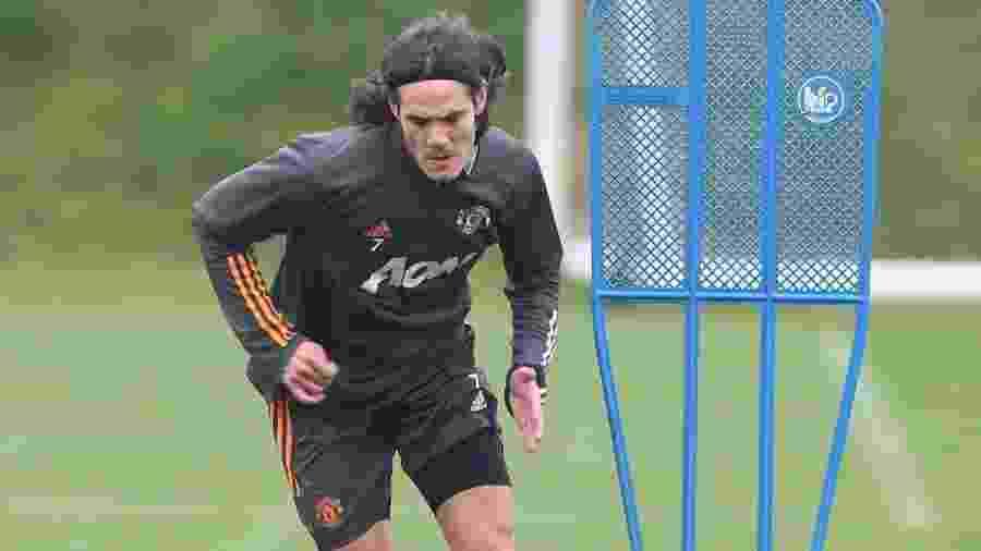 Uruguaio está treinamento normalmente no clube inglês - Reprodução/Twitter