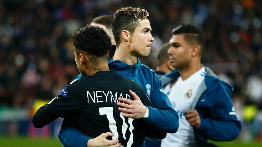 Neymar tem vontade de jogar com Cristiano - Gonzalo Arroyo Moreno/Getty Images