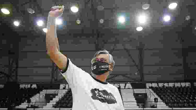 Durcesio Mello celebra vitória em eleição do Botafogo - Twitter Botafogo F.R. - Twitter Botafogo F.R.
