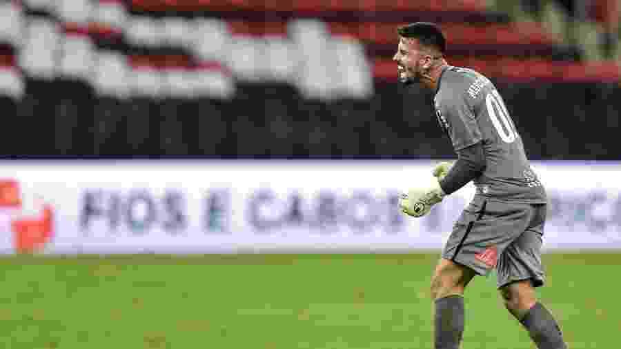"""Marcos Felipe vive """"sonho"""" como titular do Fluminense após vitória sobre o rival Flamengo - THIAGO RIBEIRO/ESTADÃO CONTEÚDO"""