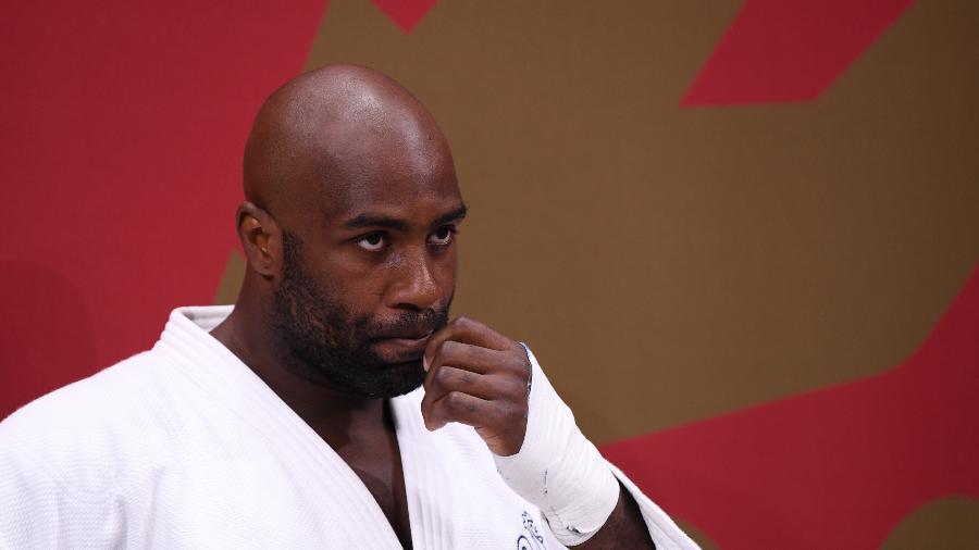 Teddy Riner, judoca francês, foi derrotado nos Jogos Olímpicos de Tóquio  - REUTERS/Annegret Hilse