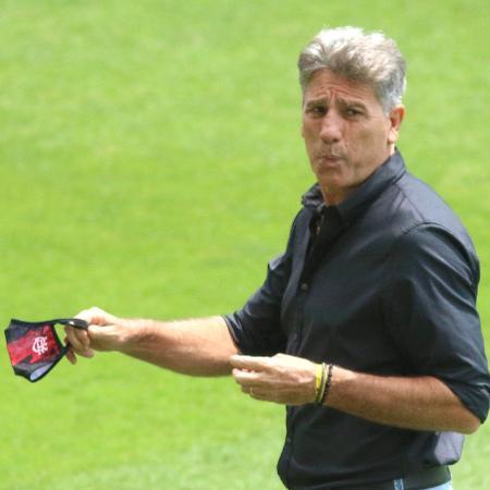 Renato, técnico do Flamengo - Fernando Moreno/AGIF