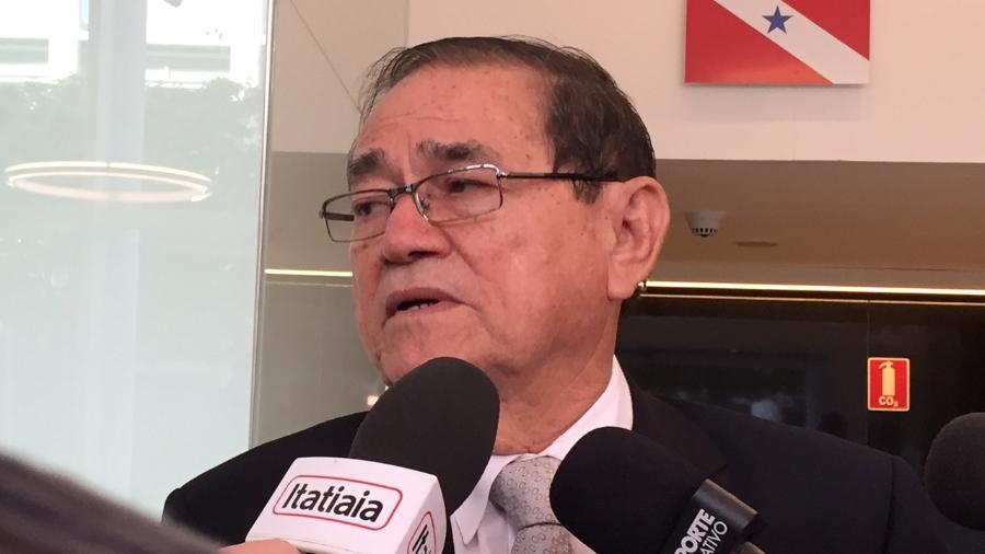 Coronel Antônio Carlos Nunes de Lima concede entrevista após ser eleito novo vice-presidente da CBF - Pedro Ivo Almeida/UOL