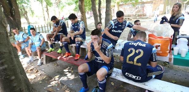Palmeiras realizou parte da pré-temporada em território uruguaio
