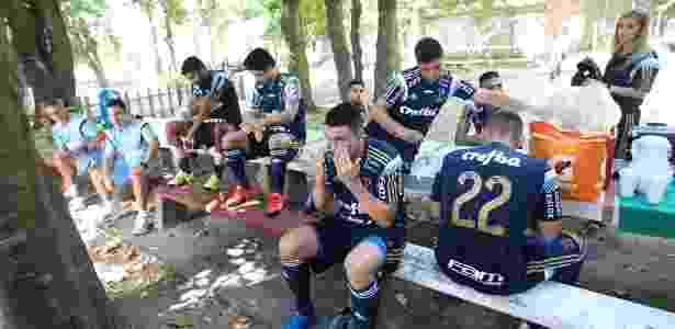 Palmeiras realizou parte da pré-temporada em território uruguaio - Cesar Greco/Ag Palmeiras