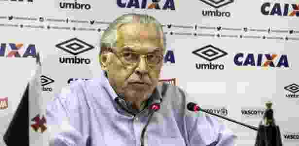 Presidente Eurico Miranda tem pregado uma política de austeridade financeira no clube - Paulo Fernandes / Site oficial do Vasco