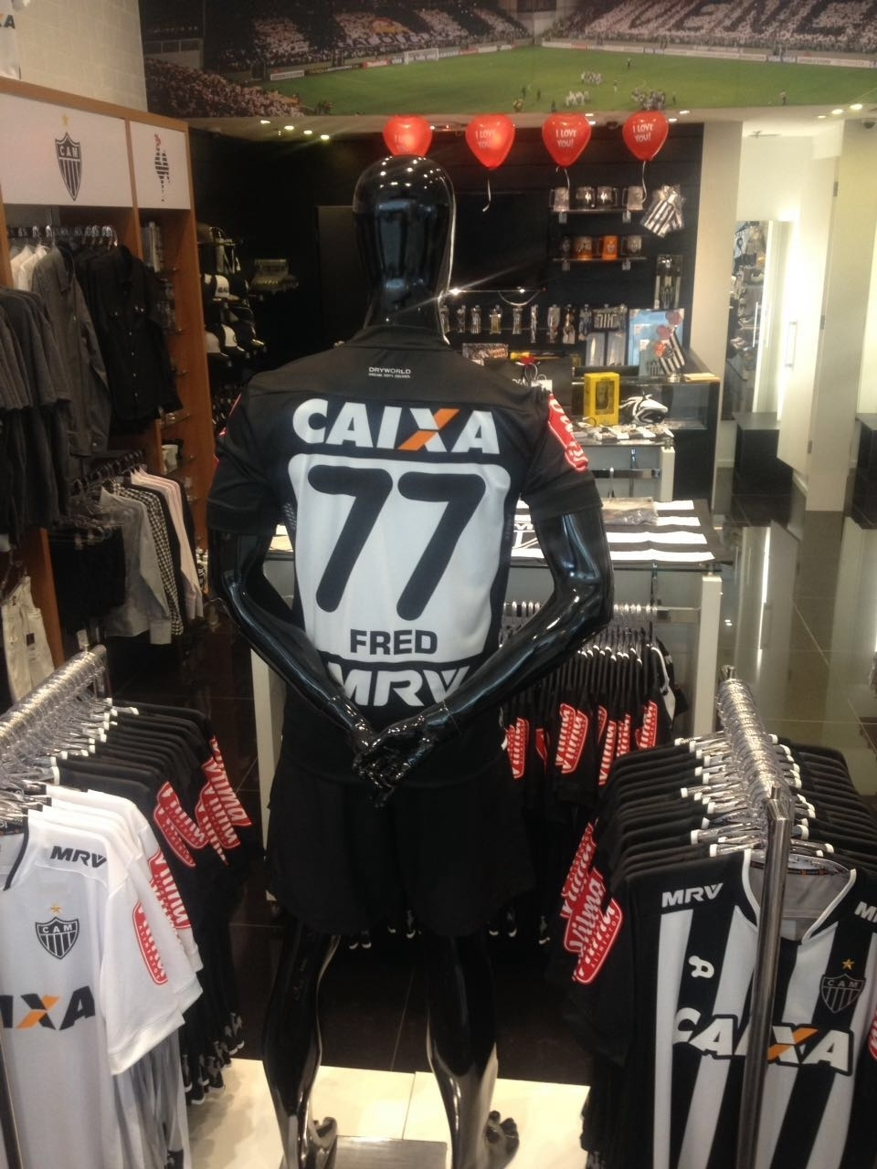 Fred vai vestir a camisa 77 no Atlético-MG