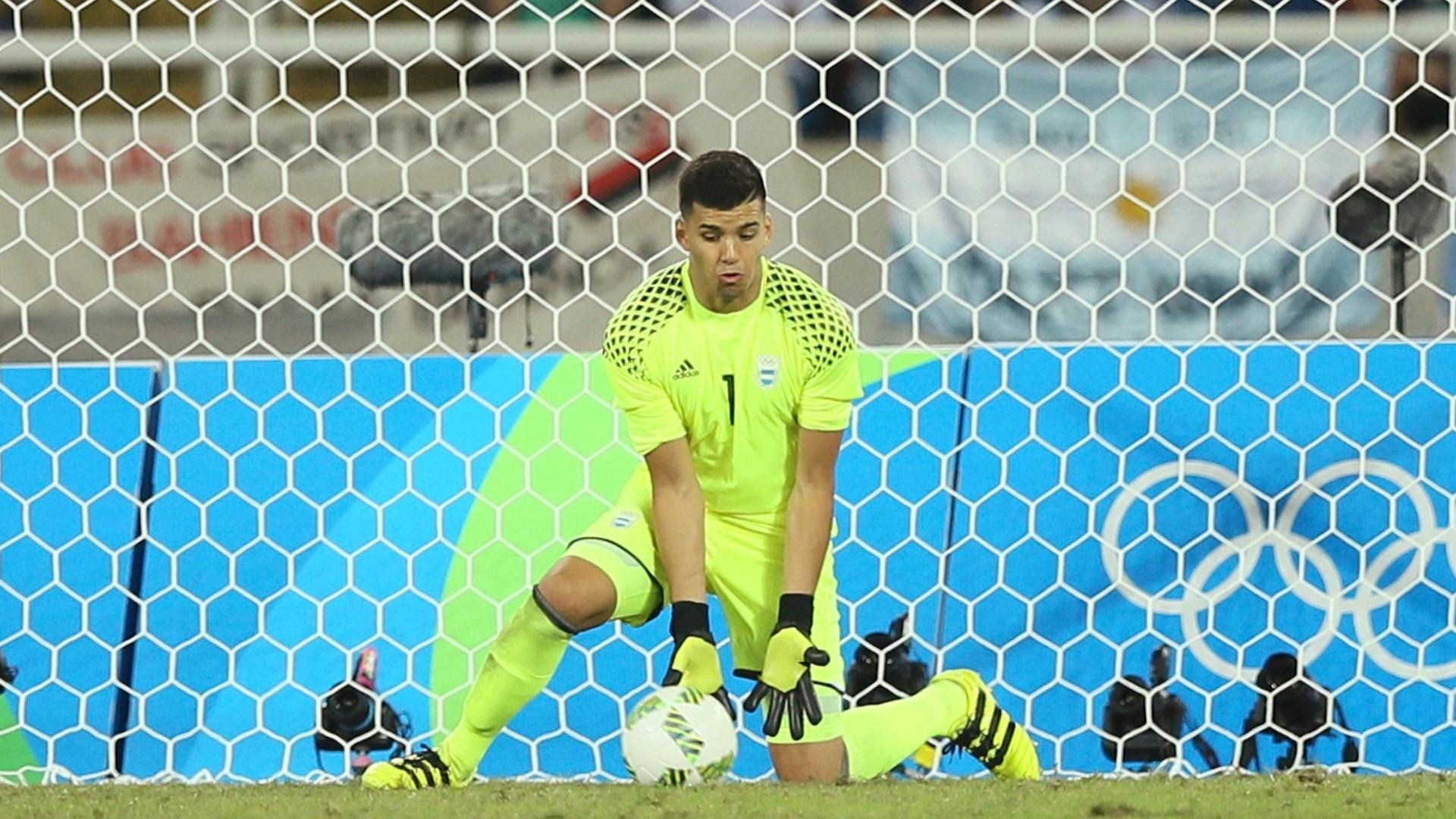 Geronimo Rulli falha na estreia com derrota da seleção argentina pela Olimpíada