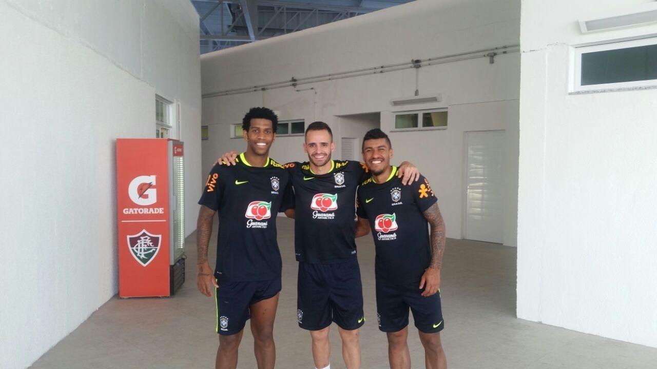 Gil Renato Augusto Paulinho seleção