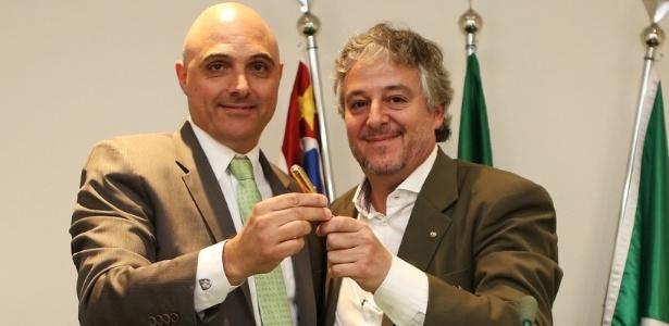 Maurício Galliotte foi eleito como sucessor de Paulo Nobre no Palmeiras