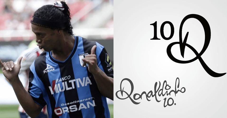 Logomarca do Ronaldinho