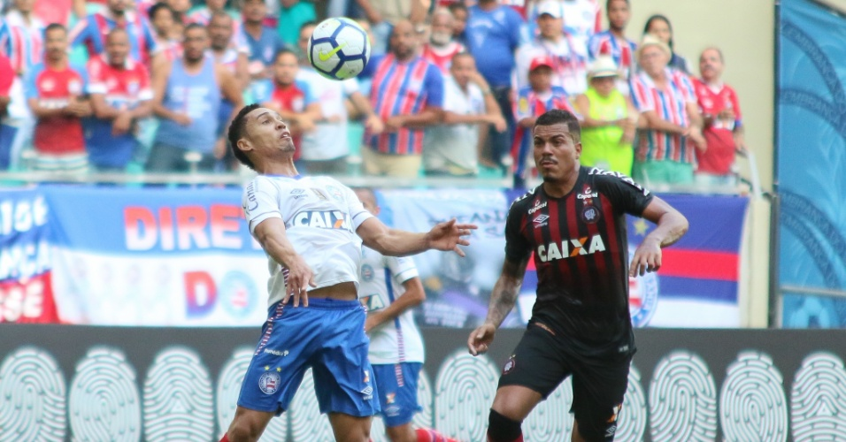 Bahia e Atlético-PR se enfrentam na Arena Fonte Nova pelo Campeonato Brasileiro 2018