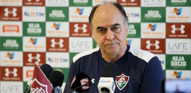 Marcelo Oliveira é apresentado no Fluminense