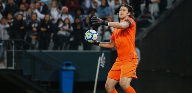 Cássio voltou ao Corinthians após fazer parte do grupo da seleção brasileira na Rússia