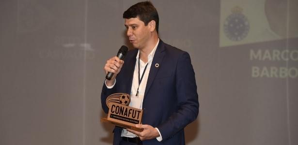 Marcone Barbosa, gerente de futebol, é quem cuida do assunto no Cruzeiro - CONAFUT/Divulgação