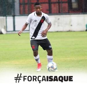 Vasco presta solidariedade a Isaque - Divulgação