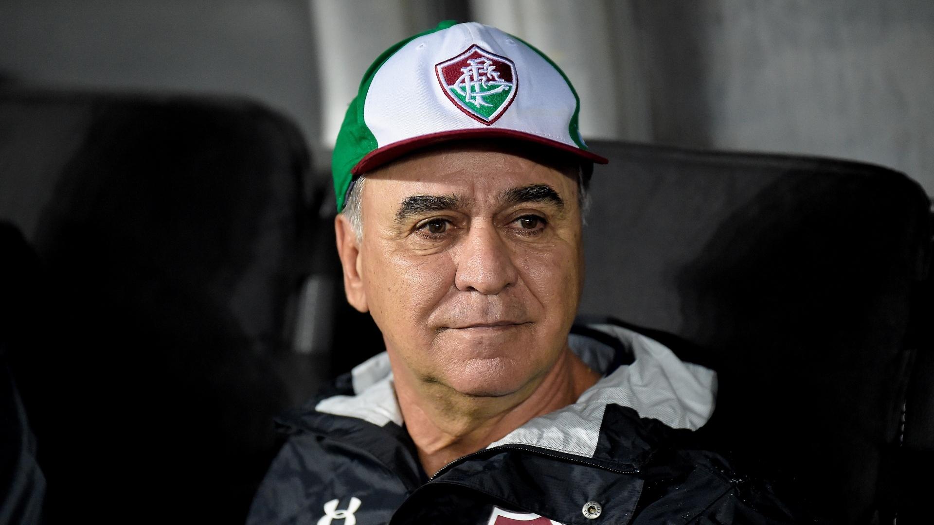 Marcelo Oliveira comanda o Fluminense contra o Nacional