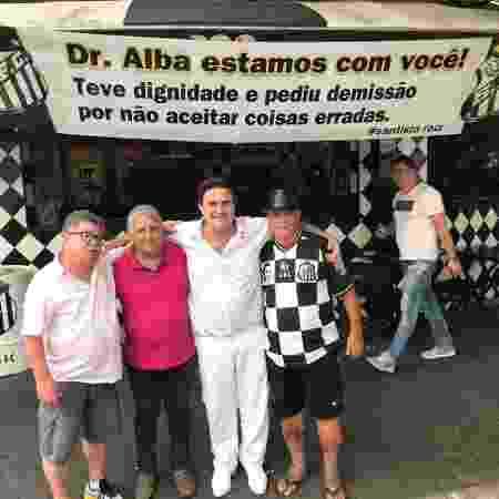 Carlos Alba, médico do Santos - Reprodução - Reprodução