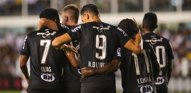 Atlético-MG terá Ricardo Oliveira no comando de ataque contra o Botafogo