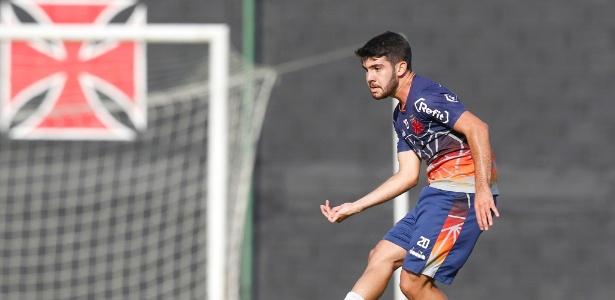 """Dudu em treino do Vasco; jogador será uma das """"caras novas"""" do time em 2019 - Rafael Ribeiro / Flickr do Vasco"""