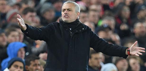 Mourinho deixou o Manchester United no meio da sua terceira temporada com o clube - Paul Ellis/AFP
