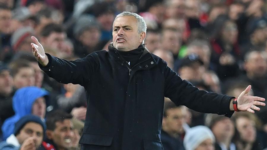 Mourinho está sem clube desde que foi dispensado pelo United em dezembro de 2018 - Paul Ellis/AFP