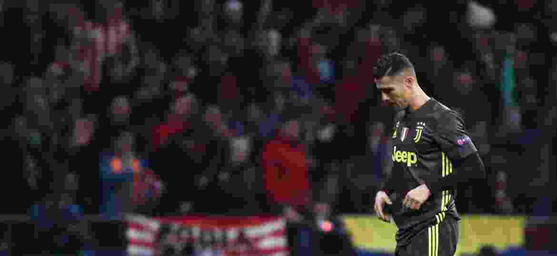 Cristiano Ronaldo, durante partida entre Juventus e Atlético de Madri - REUTERS/Sergio Perez