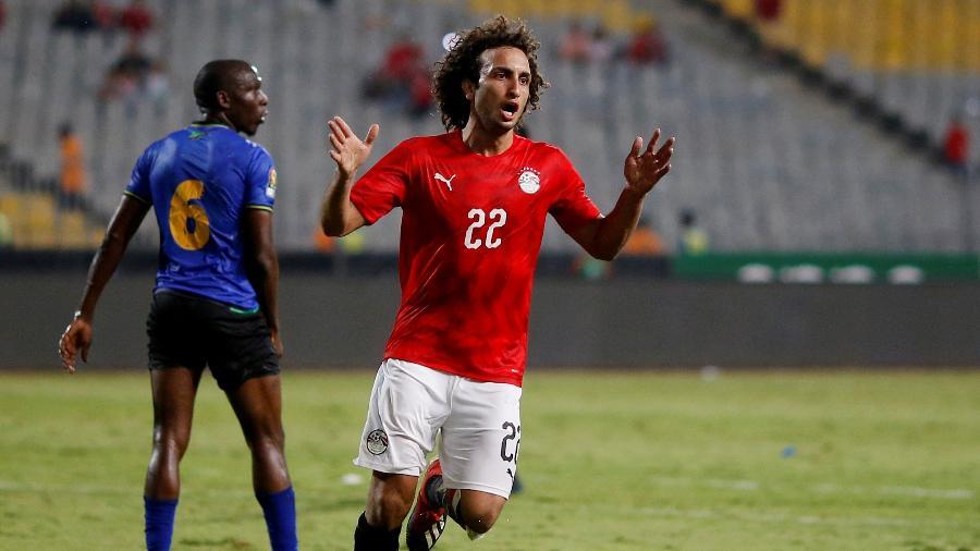 Amr Warda, durante partida pela seleção do Egito - REUTERS/Amr Abdallah Dalsh