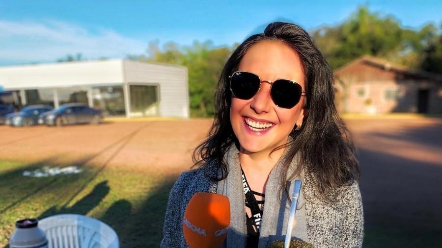 Jornalista da Rádio Gaúcha, Renata de Medeiros - Reprodução/Instagram