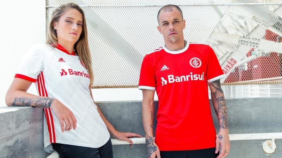 Inter apresenta novos uniformes para a temporada - Divulgação