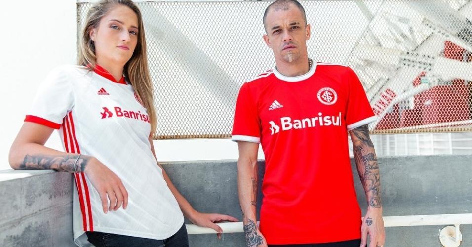 Inter apresenta novos uniformes para a temporada