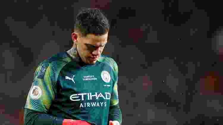 Ederson Manchester United - Phil Noble/Reuters - Phil Noble/Reuters