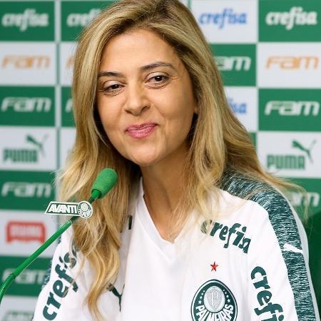 Leila Pereira, patrocinadora e conselheira do Palmeiras, falou sobre Mundial de 1951 - Cesar Greco